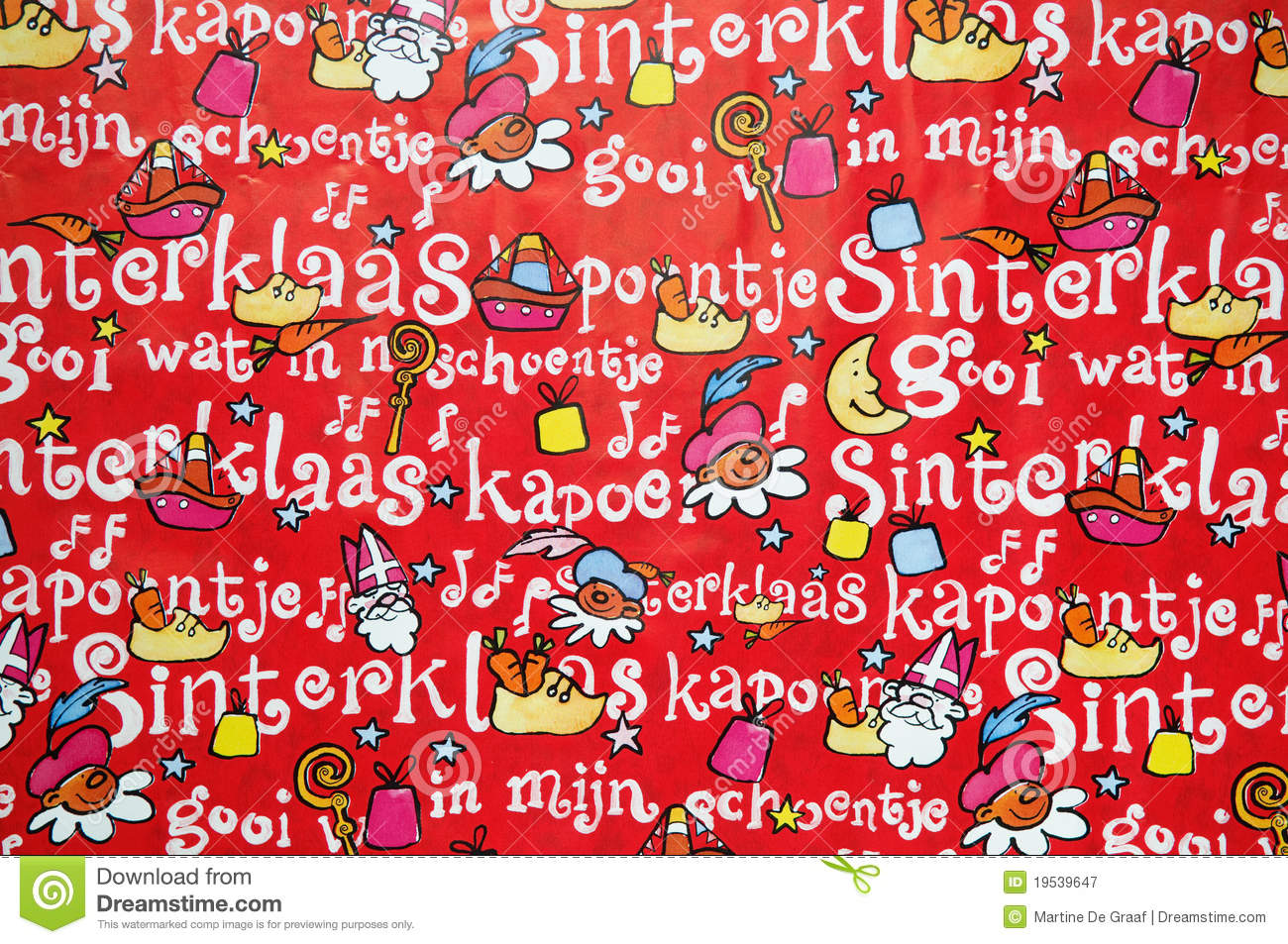 Sinterklaas Kapoentje Sinterklaas Background Stock Image Image Of Colorful 19539647