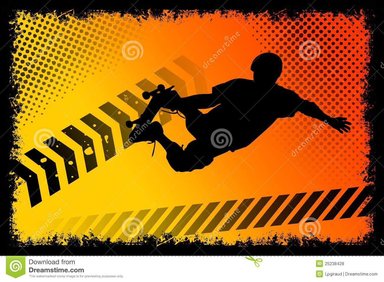Photo Poster Skateboard Poster Royalty Free Stock Photos Image 25238428