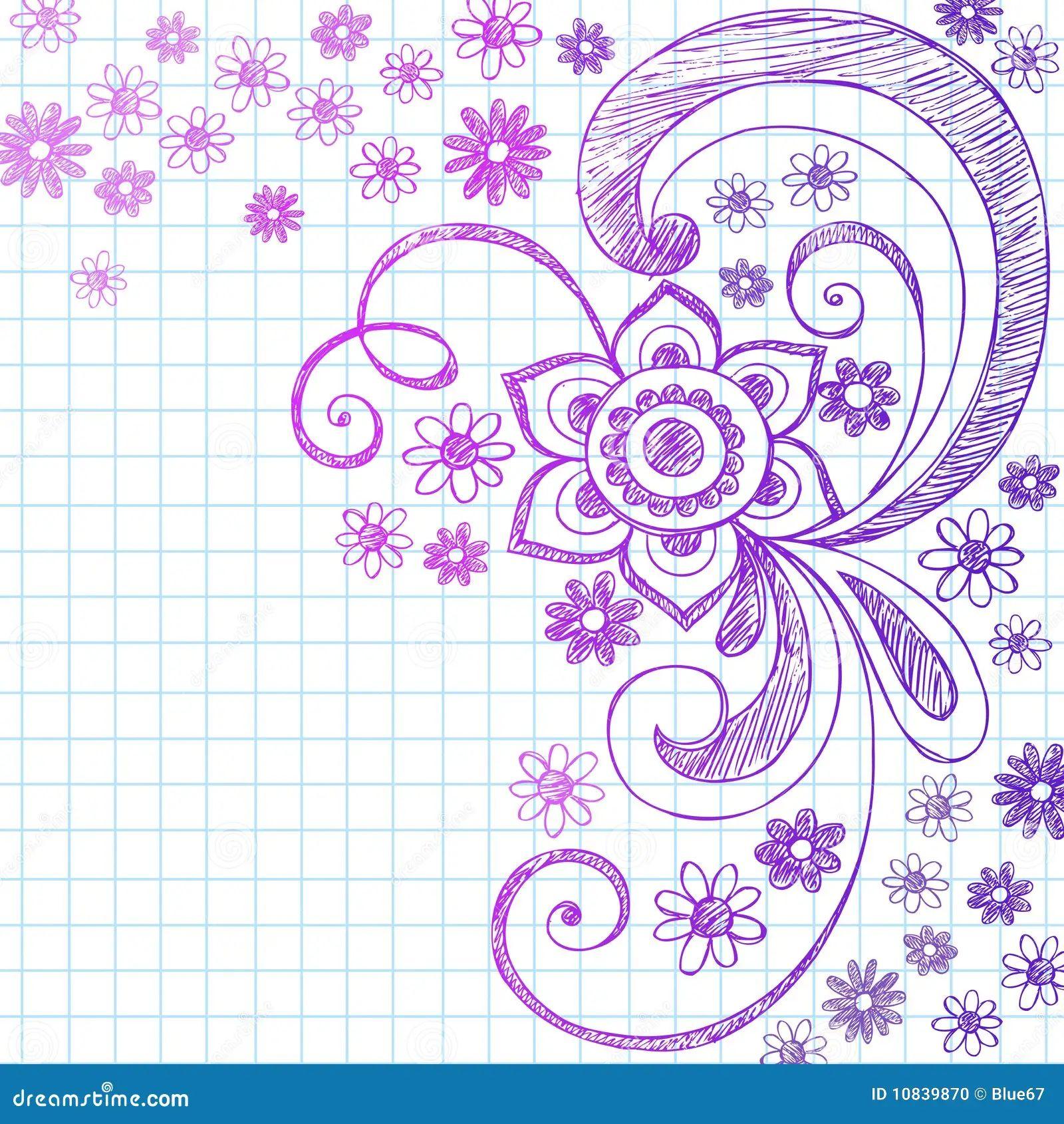 flower border designs for paper