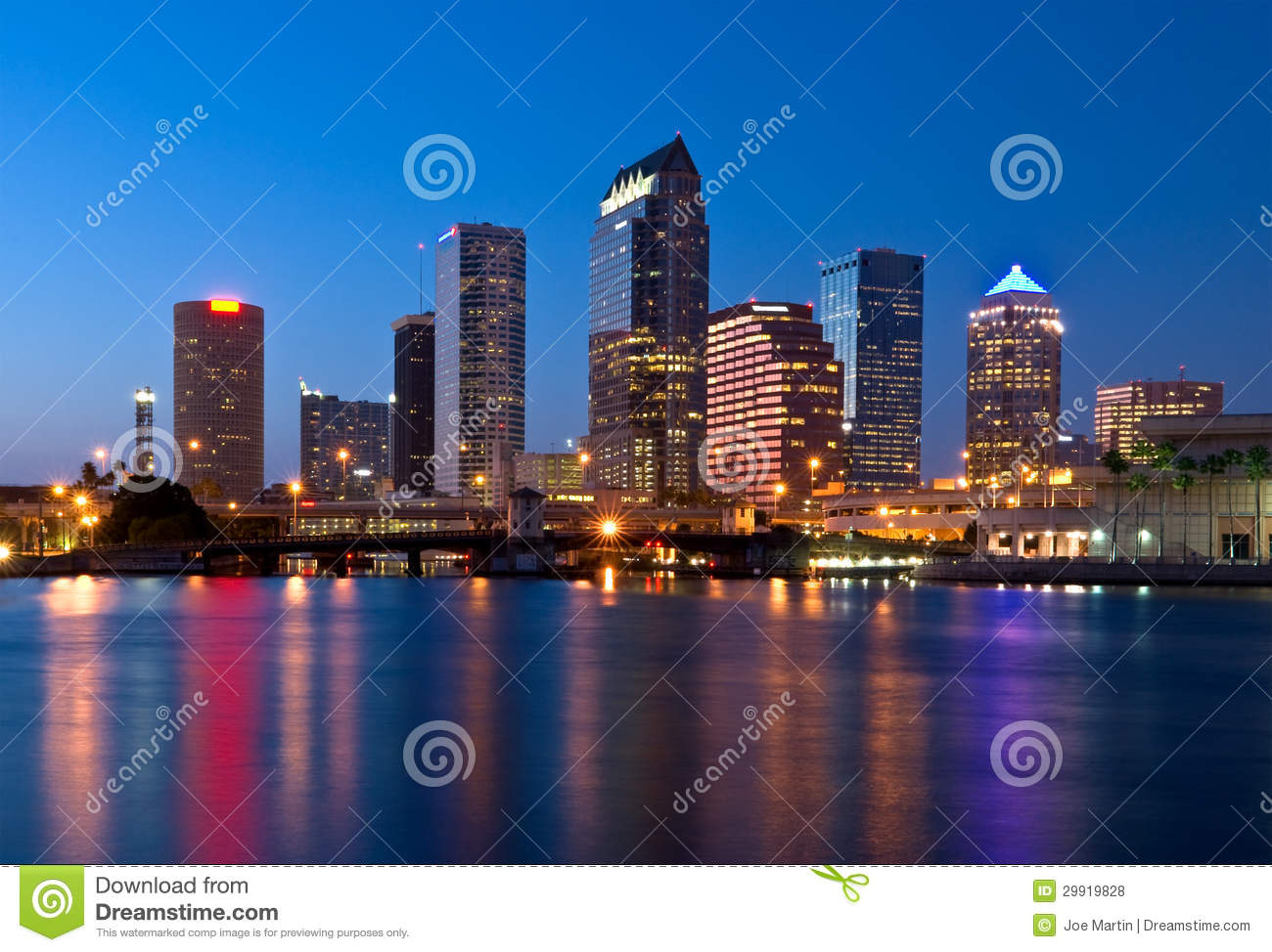 Photo Wallpaper 3d In Tampa Fl Downtown Tampa Skyline Royalty Free Stock Photos Image