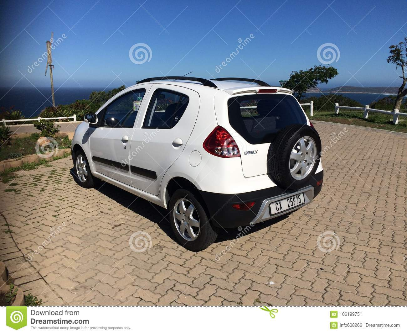 Car Manufacturers In South Africa Geely Gx2 1 5 After 3 Years Editorial Photo Image Of Have