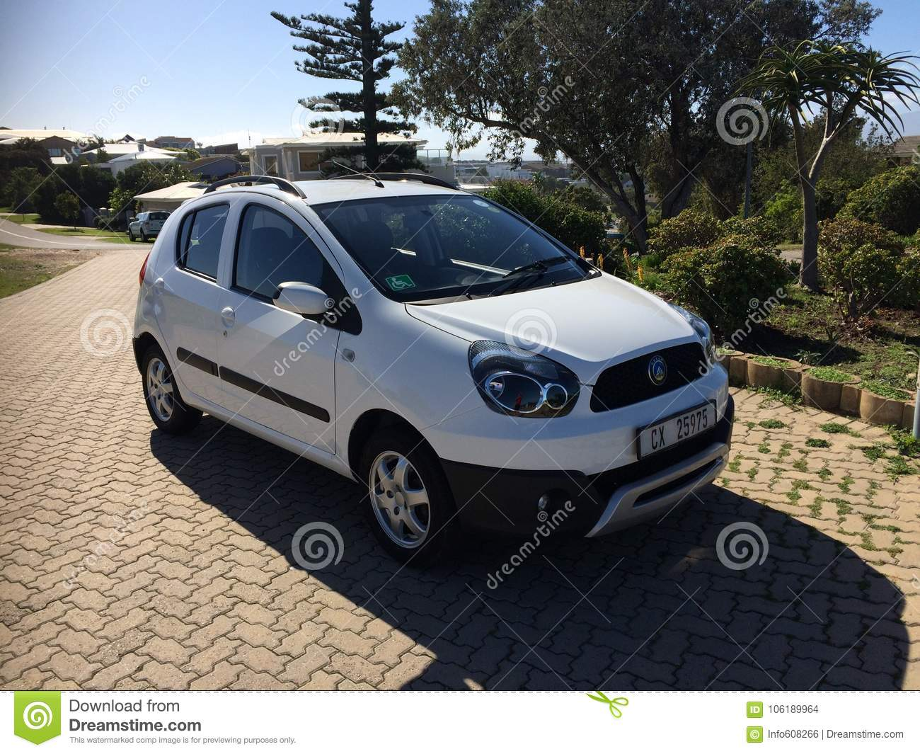Car Manufacturers In South Africa Geely Gx2 1 5 After 3 Years Editorial Stock Image Image