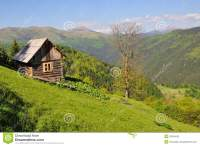 Small House On A Hillside Royalty Free Stock Photo - Image ...