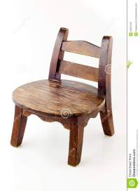 A small old chair. stock image. Image of wooden, chair ...