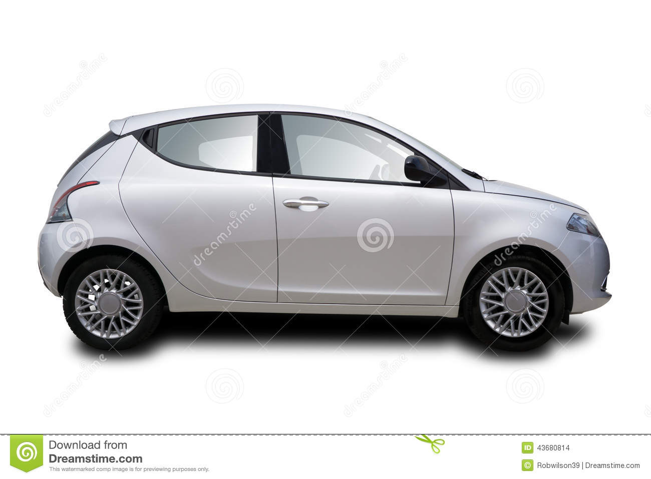 Two Door Cars Small Two Door Car Stock Photo Image 43680814