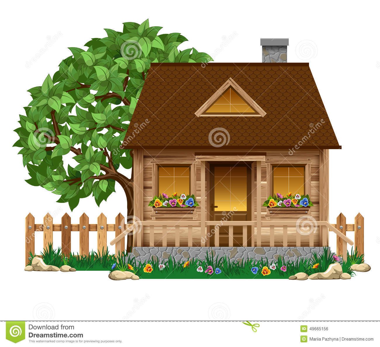 Wooden House Stock Illustrations 134 603 Wooden House Stock Illustrations Vectors Clipart Dreamstime