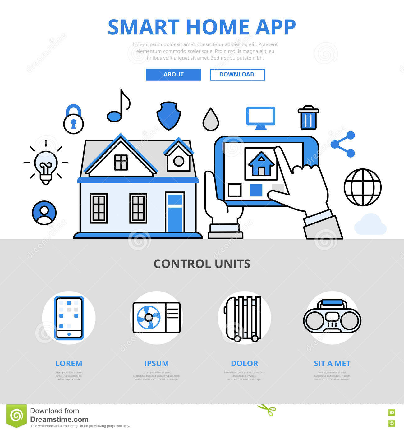 Smarthome App Smart Home Art Small House Interior Design