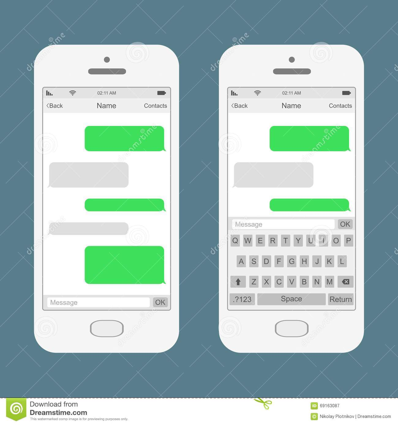 phone messages template