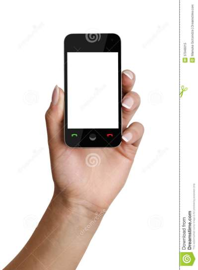 Smartphone In Hand Royalty Free Stock Photo - Image: 37946015