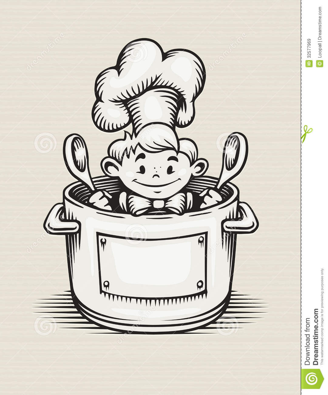 Cliparts Küche Gratis Smiling Boy Cooking In The Kitchen Royalty Free Stock