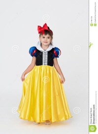Snow White fancy dress stock image. Image of happy