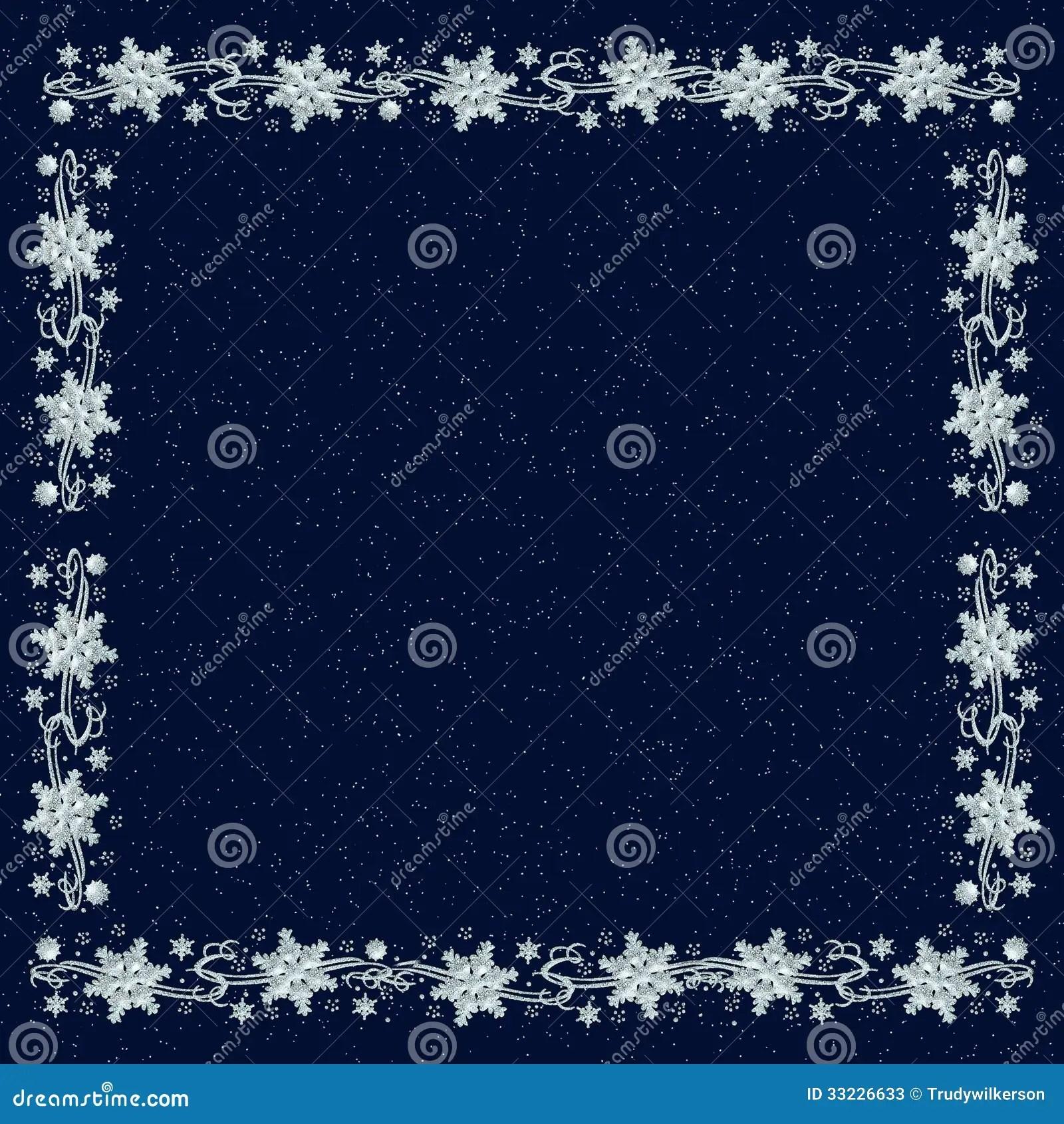 Free Falling Snow Wallpaper Download Snowflake Backgound On Navy Blue Stock Photos Image