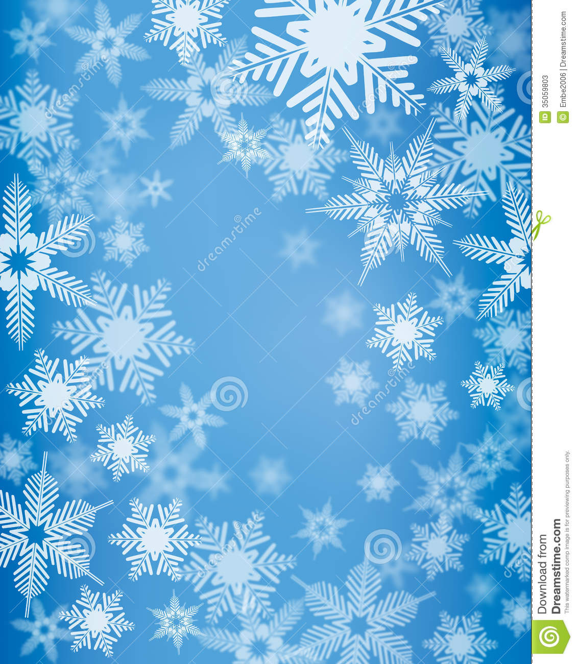 Snow Falling Wallpapers Free Download Snowflake Background Stock Photos Image 35059803