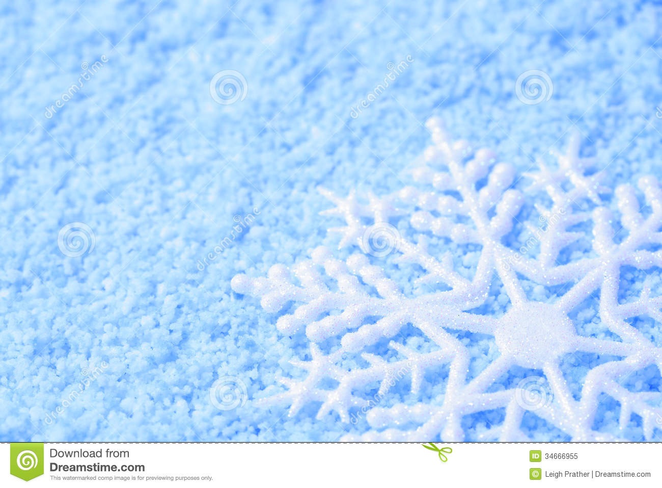 Wallpaper 3d Animation Free Download Snowflake In Snow Royalty Free Stock Photo Image 34666955