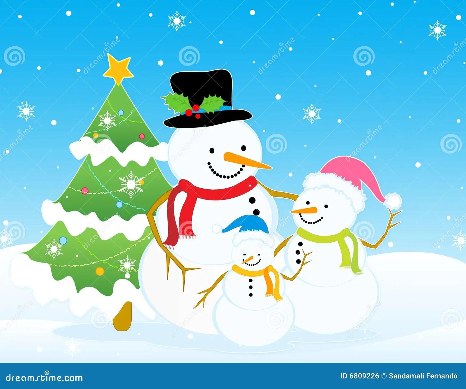 Turkey Wallpaper Cute Snowman Christmas Winter Background Royalty Free Stock