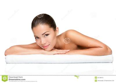 Asian Woman Beautiful Skin