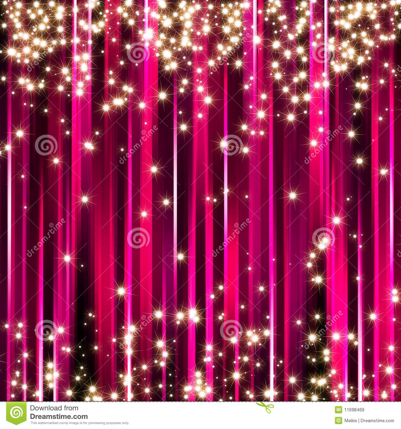 Breast Cancer 3d Wallpaper For Pc Sparkle Pink Stars Background Royalty Free Stock Images