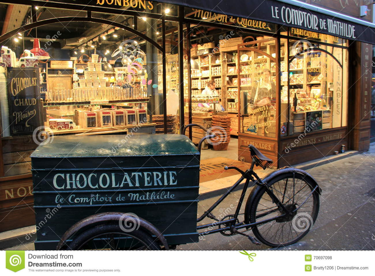 Comptoir De L Or Paris Specialty Chocolaterie Shop Le Comptoir De Mathilde Paris France