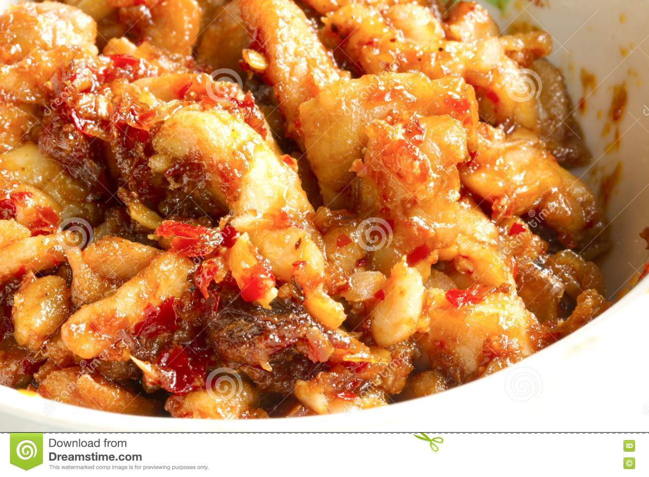 Cuisine Spicy Spicy Thai Food Stock Image Image Of Chinese Dinner