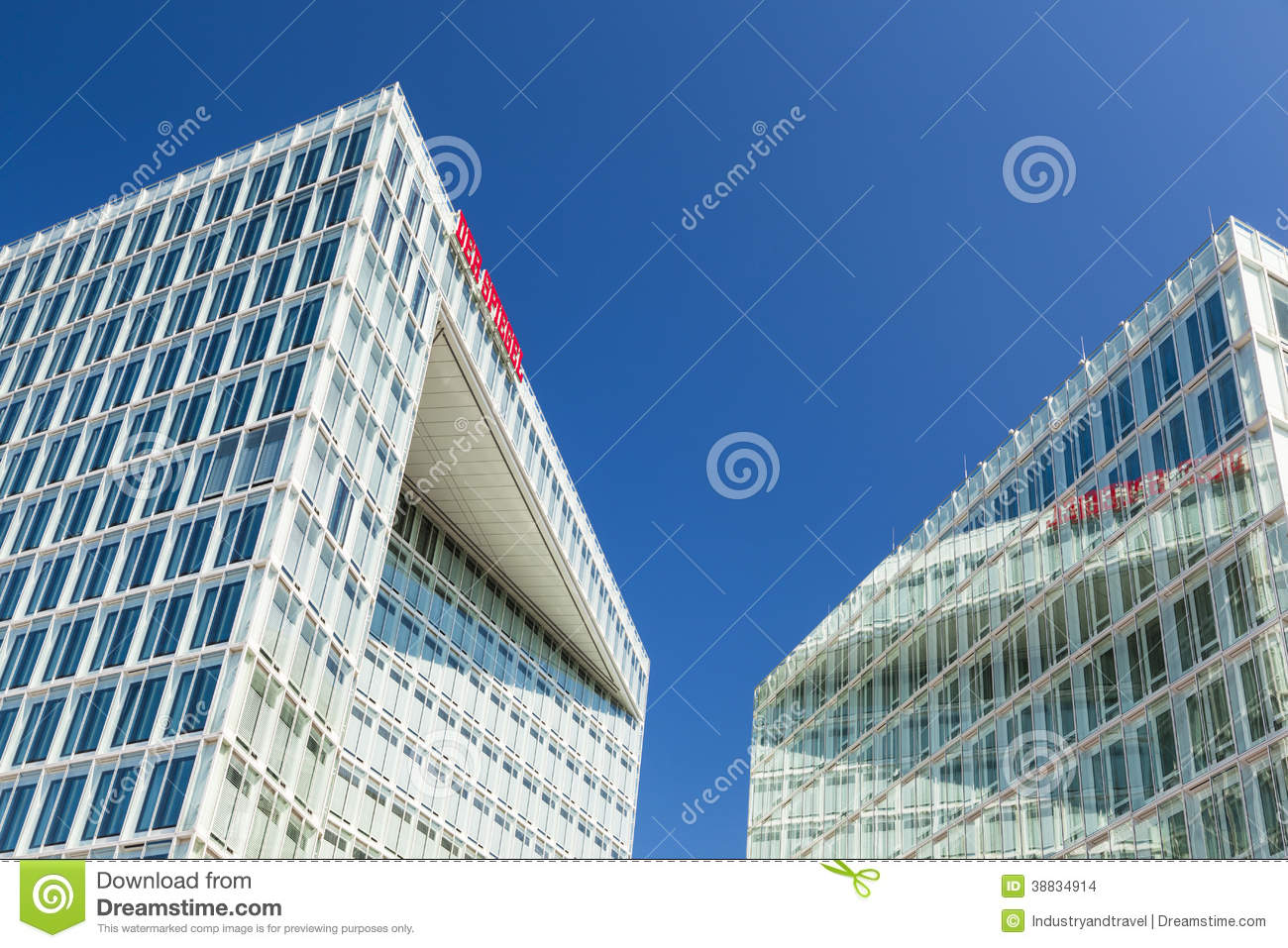 Spiegel Sonderausgabe Hamburg Spiegel Buildings In Hamburg Germany Editorial Stock