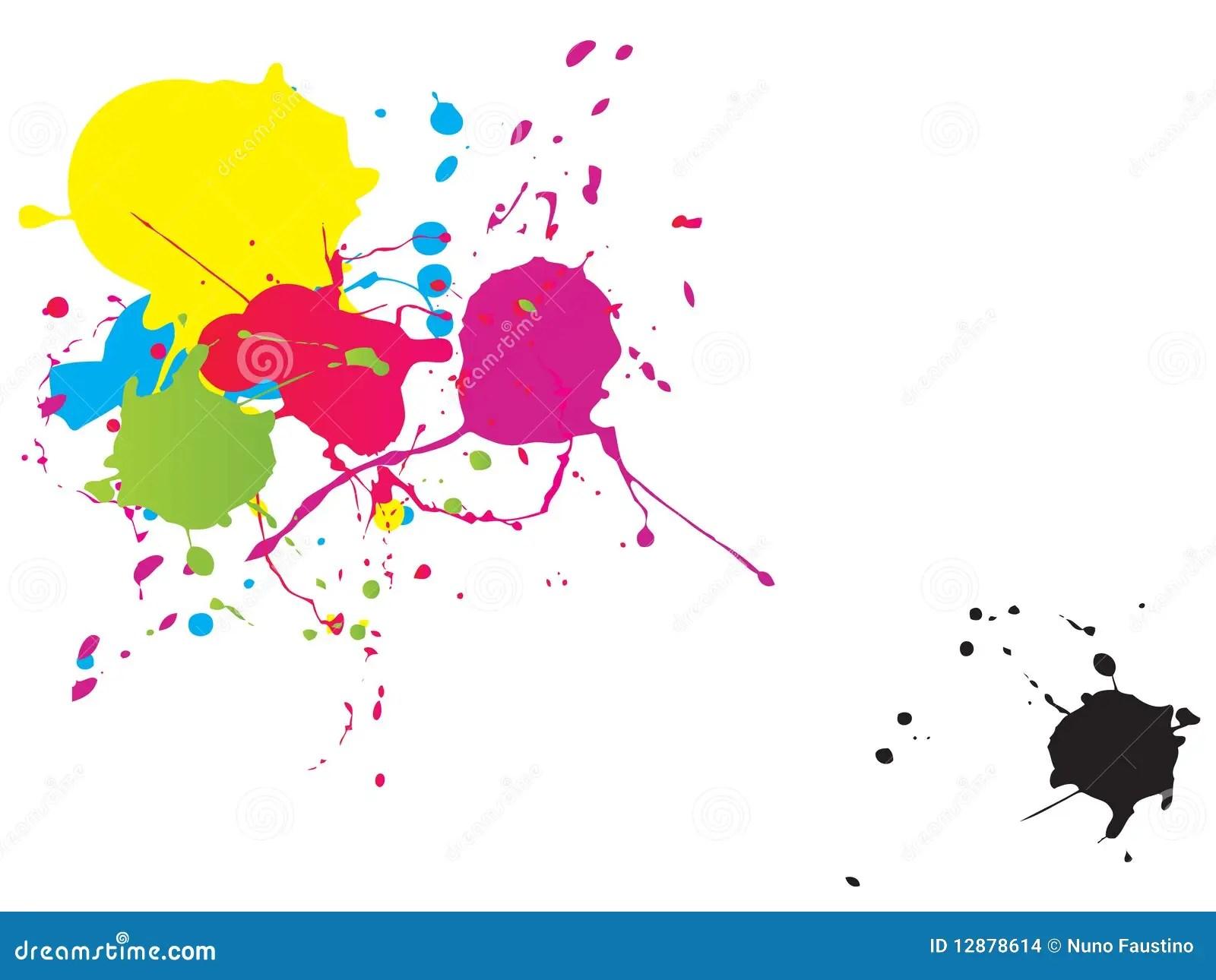 Dirty Girl Wallpaper Download Splash Painting Stock Illustration Image Of Splotches