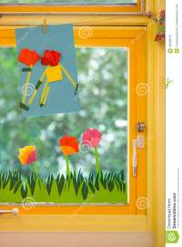 Spring Concept On An Elementary School Stock Photo - Image ...