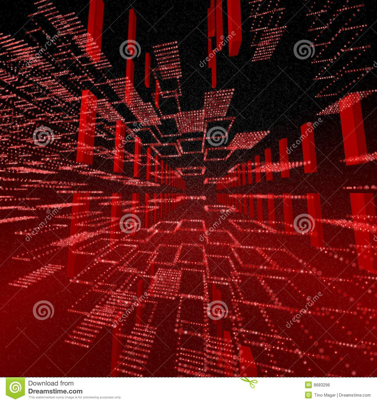Matrix 3d Wallpaper Free Download Square Red Matrix Background Royalty Free Stock Image