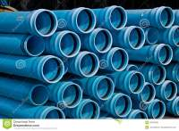Stacks Of C900 DR18 PVC Pipe Royalty Free Stock Photo ...