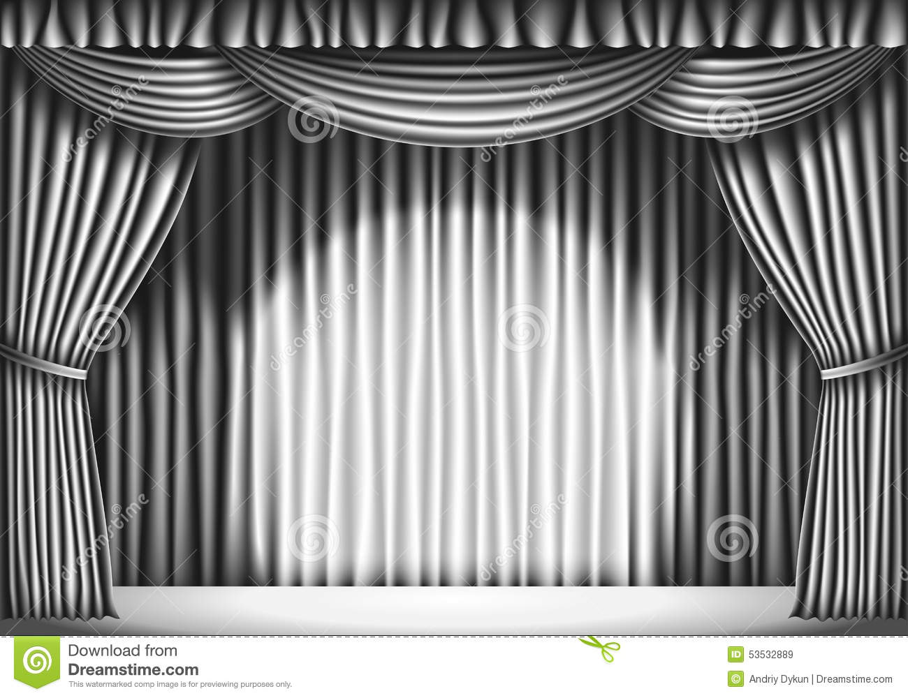 Cheap black stage curtains