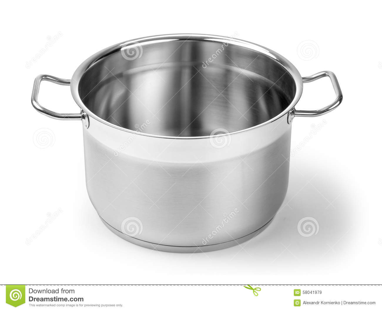 Big W Stock Pot Stainless Steel Pot Stock Image Image Of Kitchenware 58041979