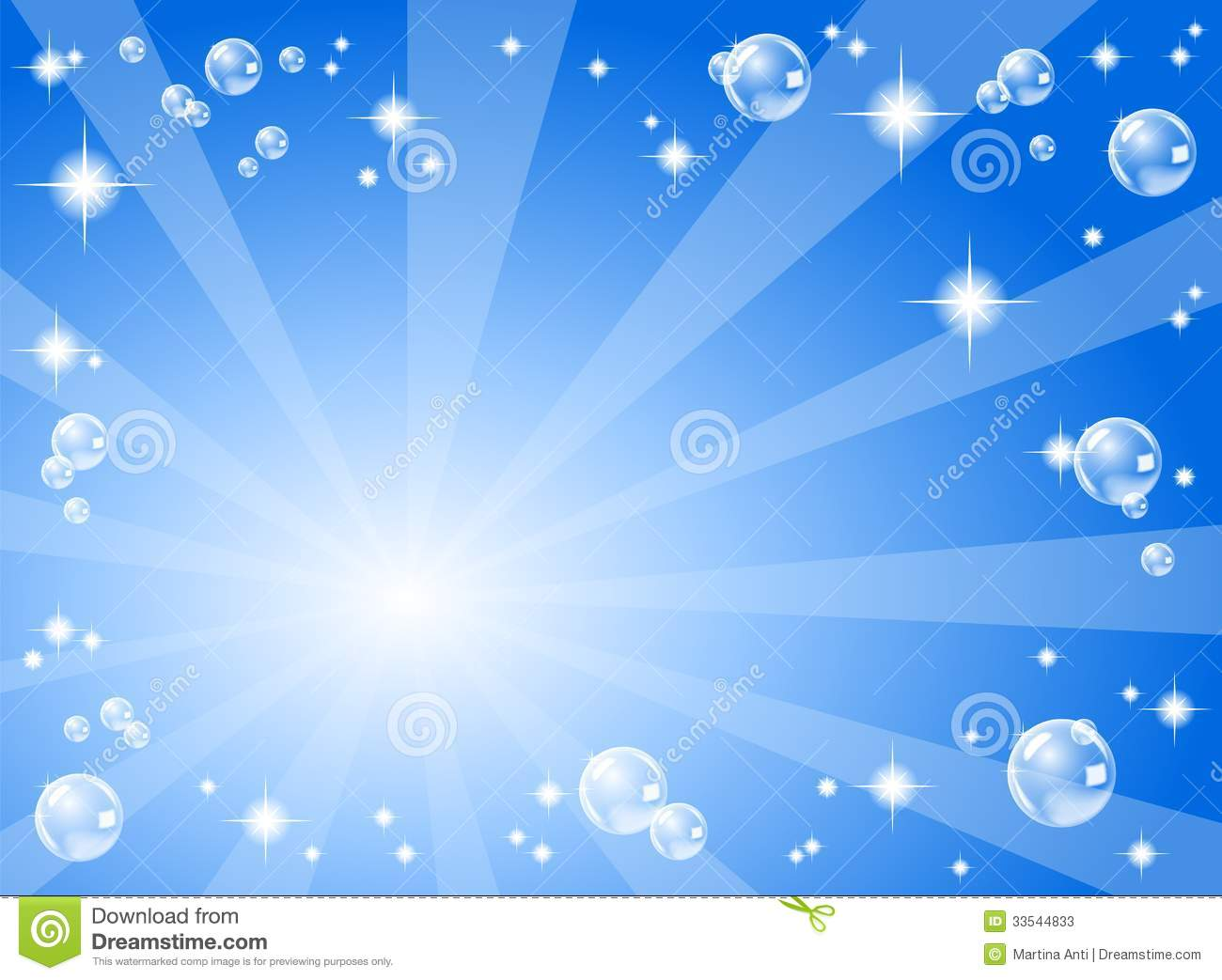 Audio Car Wallpaper Download Stars And Soap Bubbles In Front Of A Blue Backgrou Stock