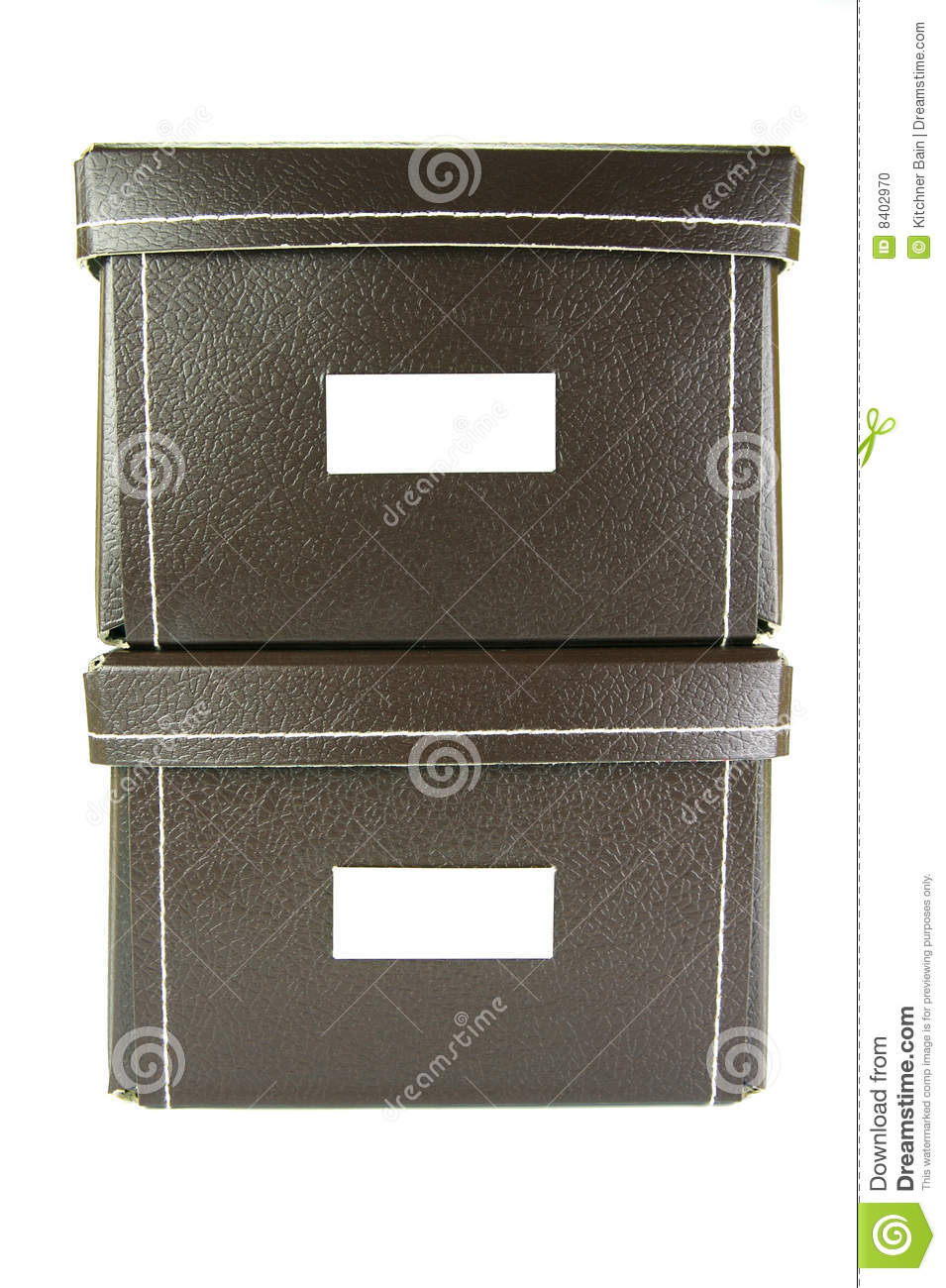 Stationary Boxes Stationery Boxes Stock Photo Image Of Brown Tidy Storage 8402970
