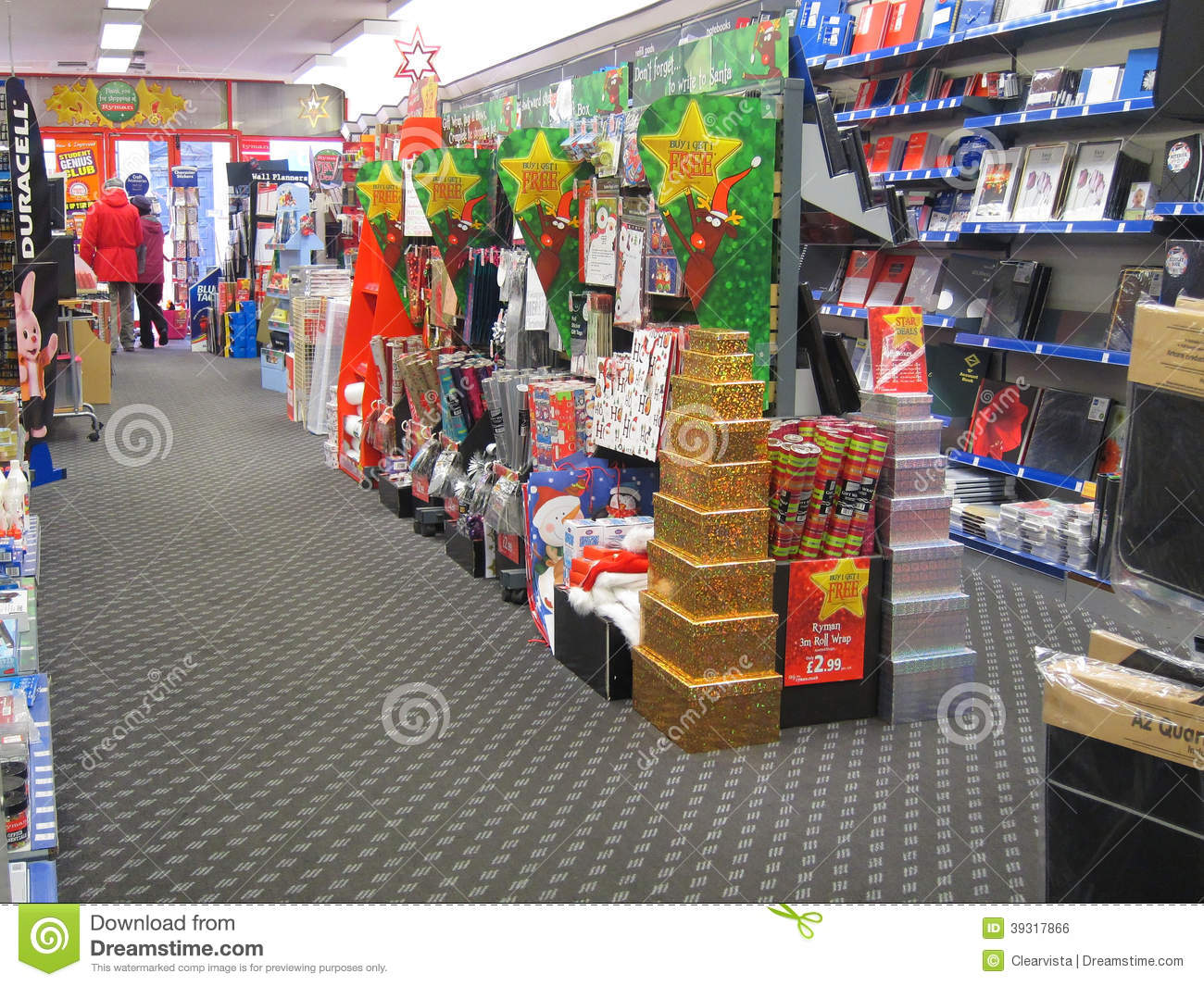 Paper Shop Stationery Store Editorial Photo Image 39317866