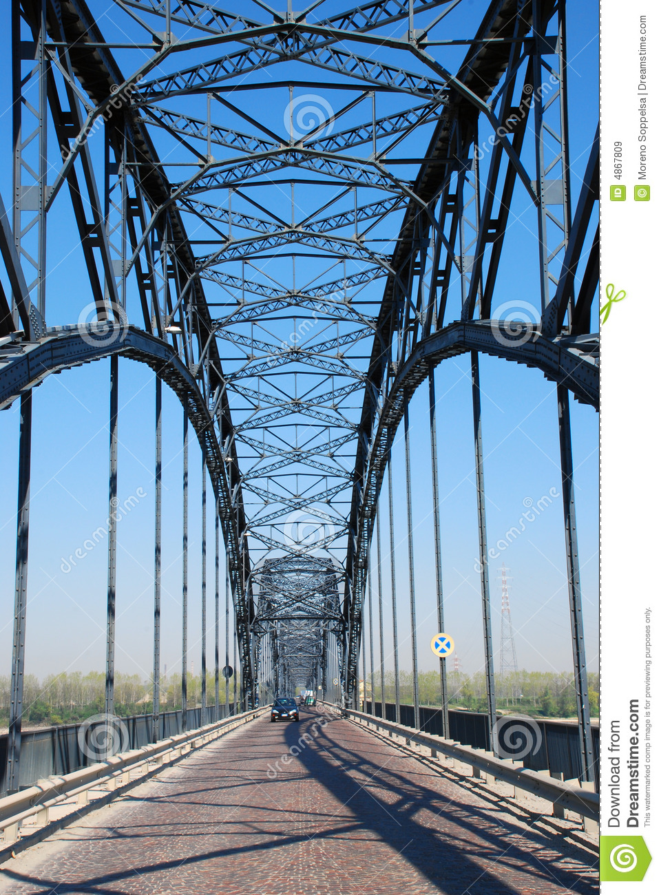 Stock Image Dreamstime Steel Bridge Superstructure Royalty Free Stock Images