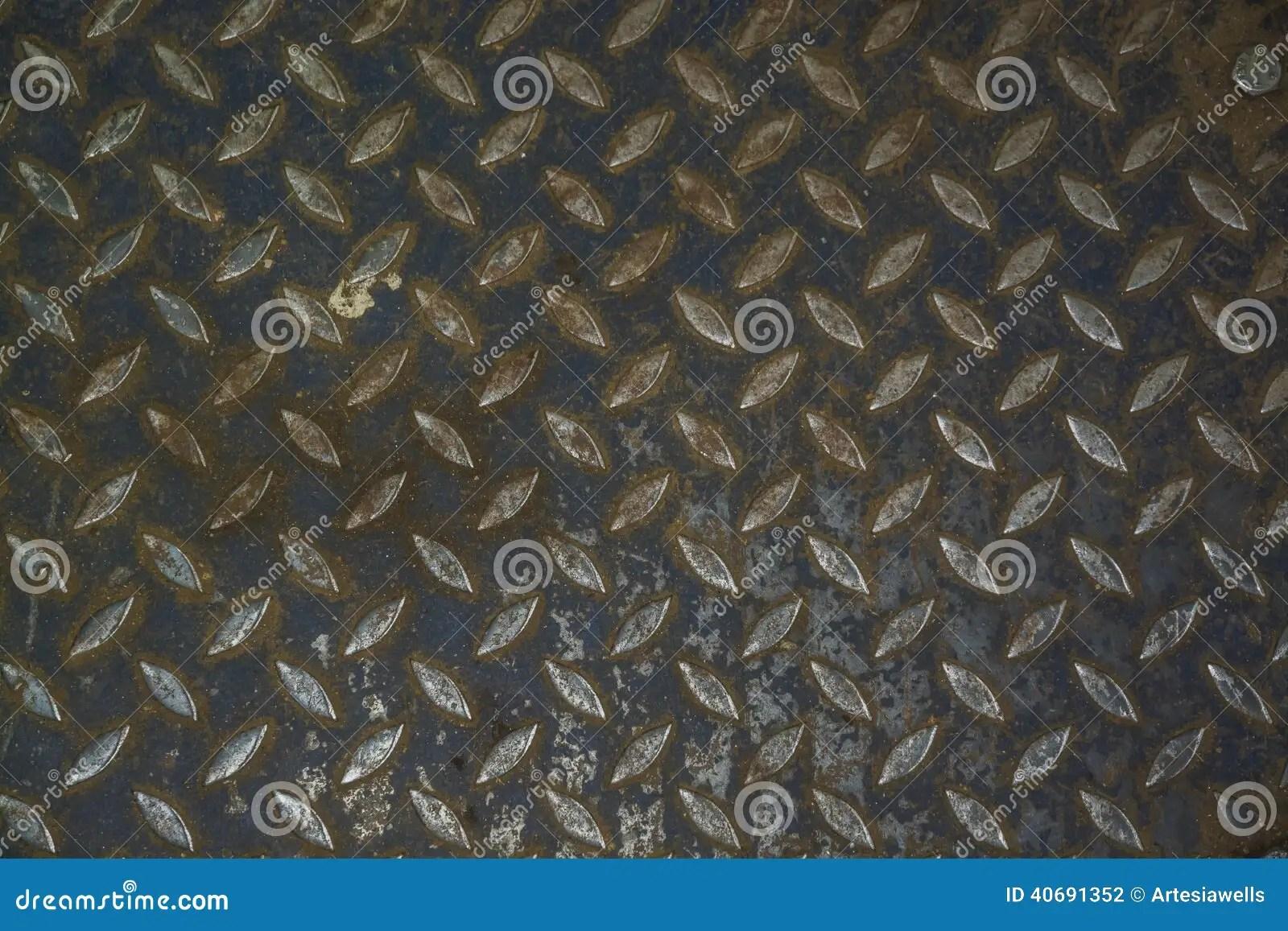 Car Shop Wallpaper Steel Floor Pattern Industrial Background Stock Photo