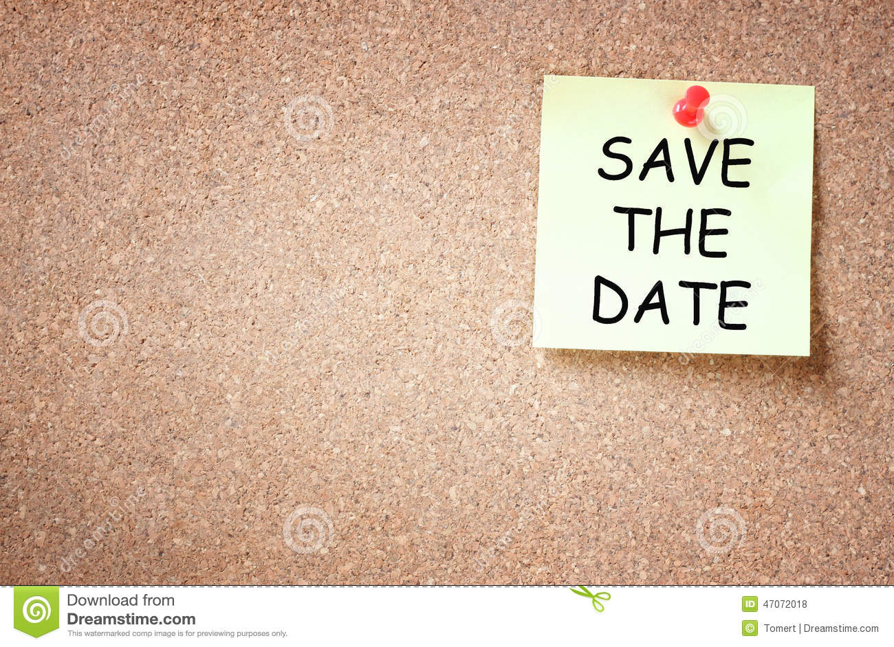 save the date meeting template