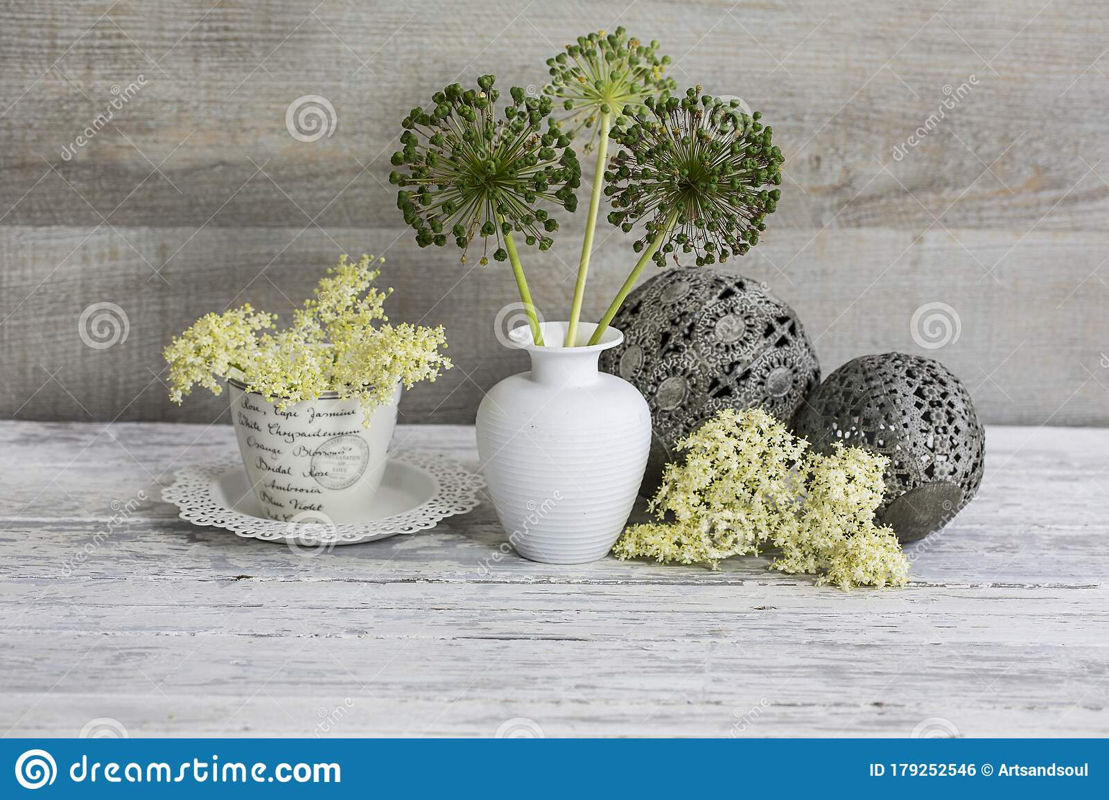 Still Life With Flower Vase Stock Photo Image Of Vase White 179252546