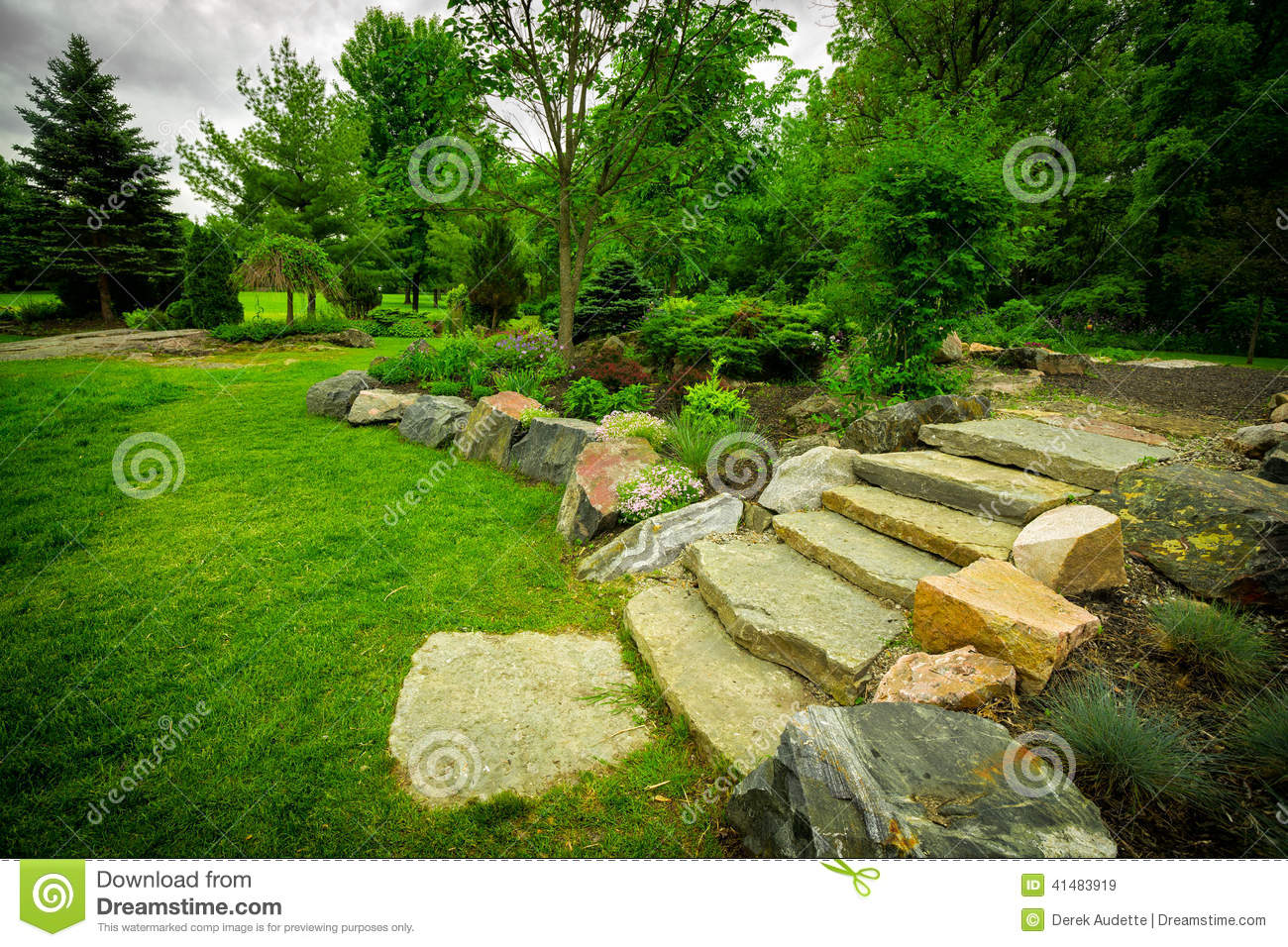 Royalty free stock photo download stone stairway
