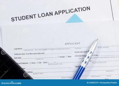 Student Loan Application Royalty-Free Stock Photo   CartoonDealer.com #16900545