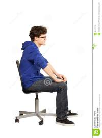 Student Sitting On Chair Relaxed Stock Photo - Image of ...