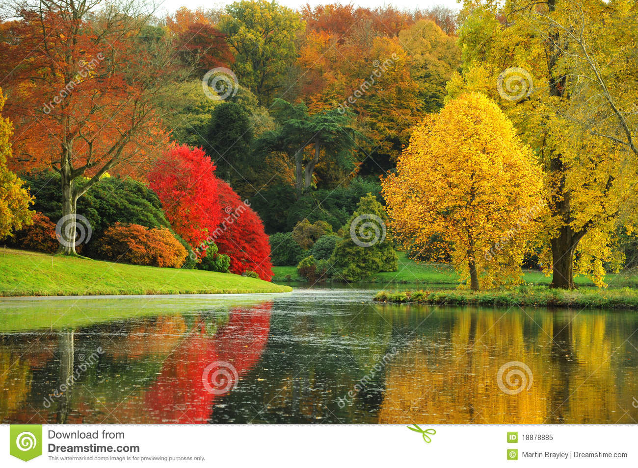 Vector Wallpaper Fall Colors The Stunning Beauty Of Autumn In England Royalty Free