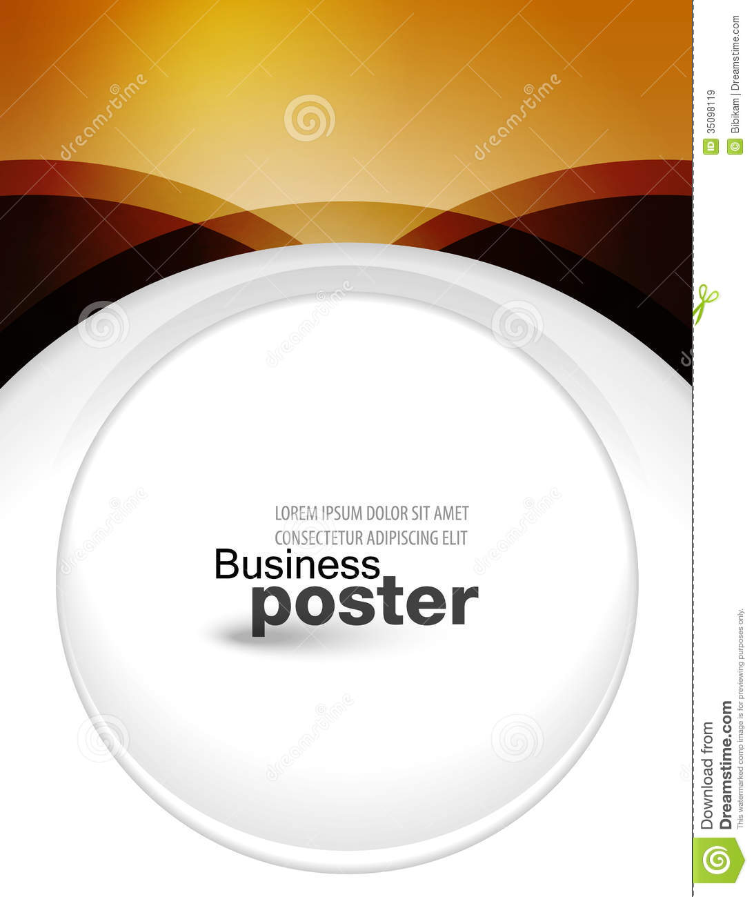 Poster design software free download -  Designer Of Business Post Royalty Free Download