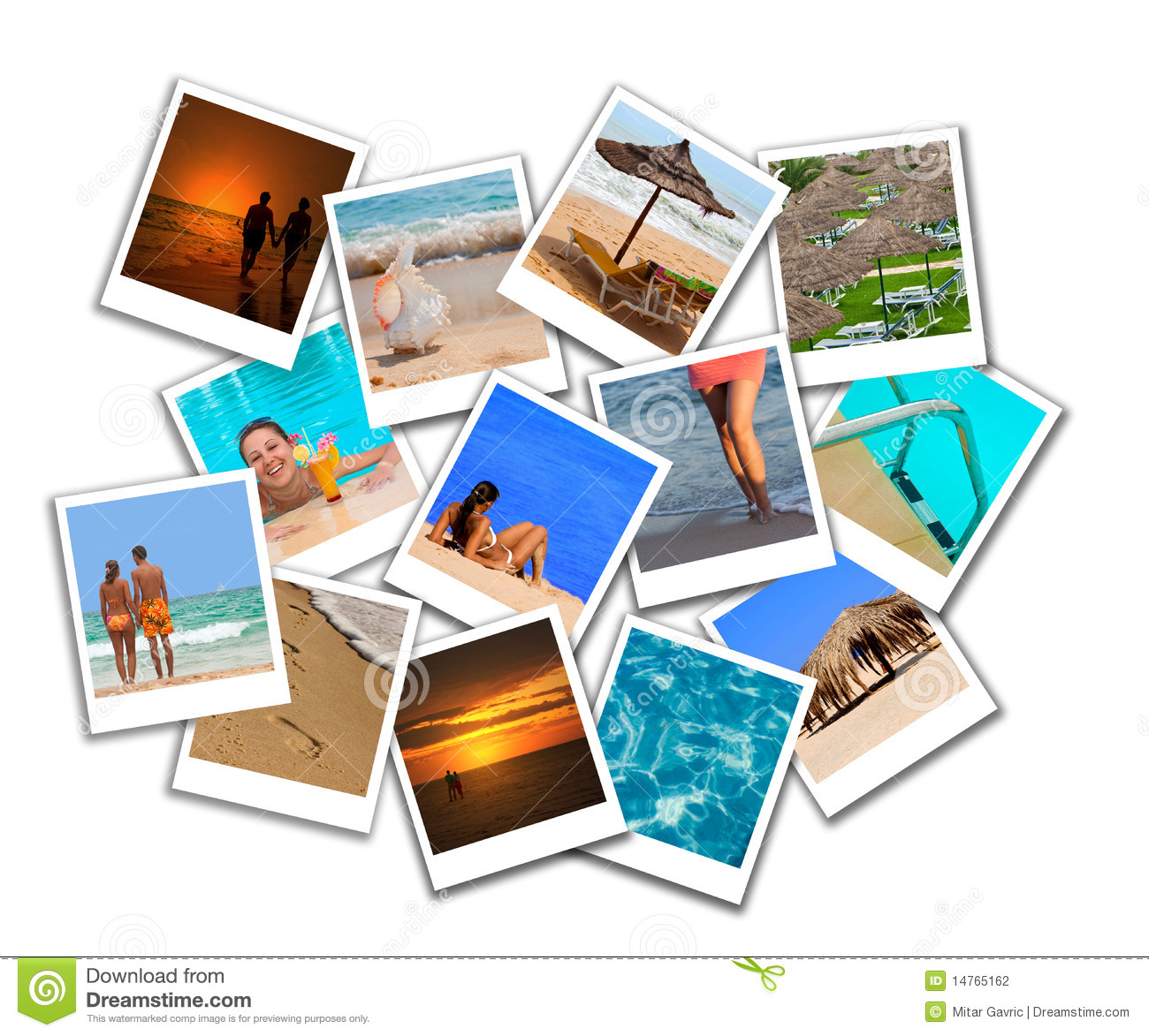 Collage Fotos Collage Of Summer Beach Maldives Images Stock Image Image Of