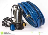 Sump Pump And Water Hose Royalty Free Stock Photos - Image ...