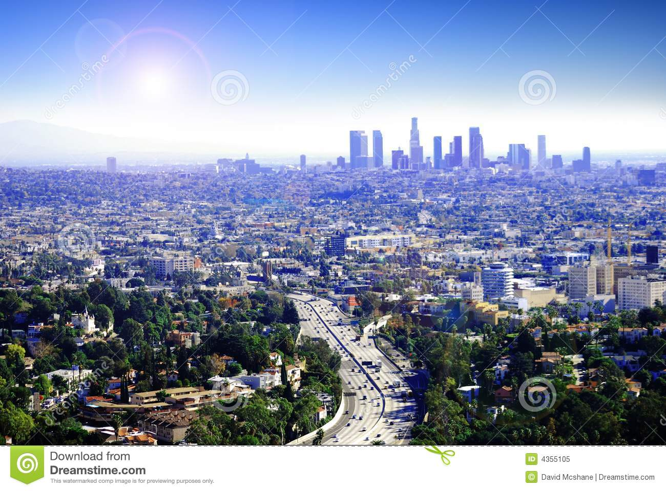 Wallpaper 2d 3d Sunny Los Angeles Royalty Free Stock Photo Image 4355105