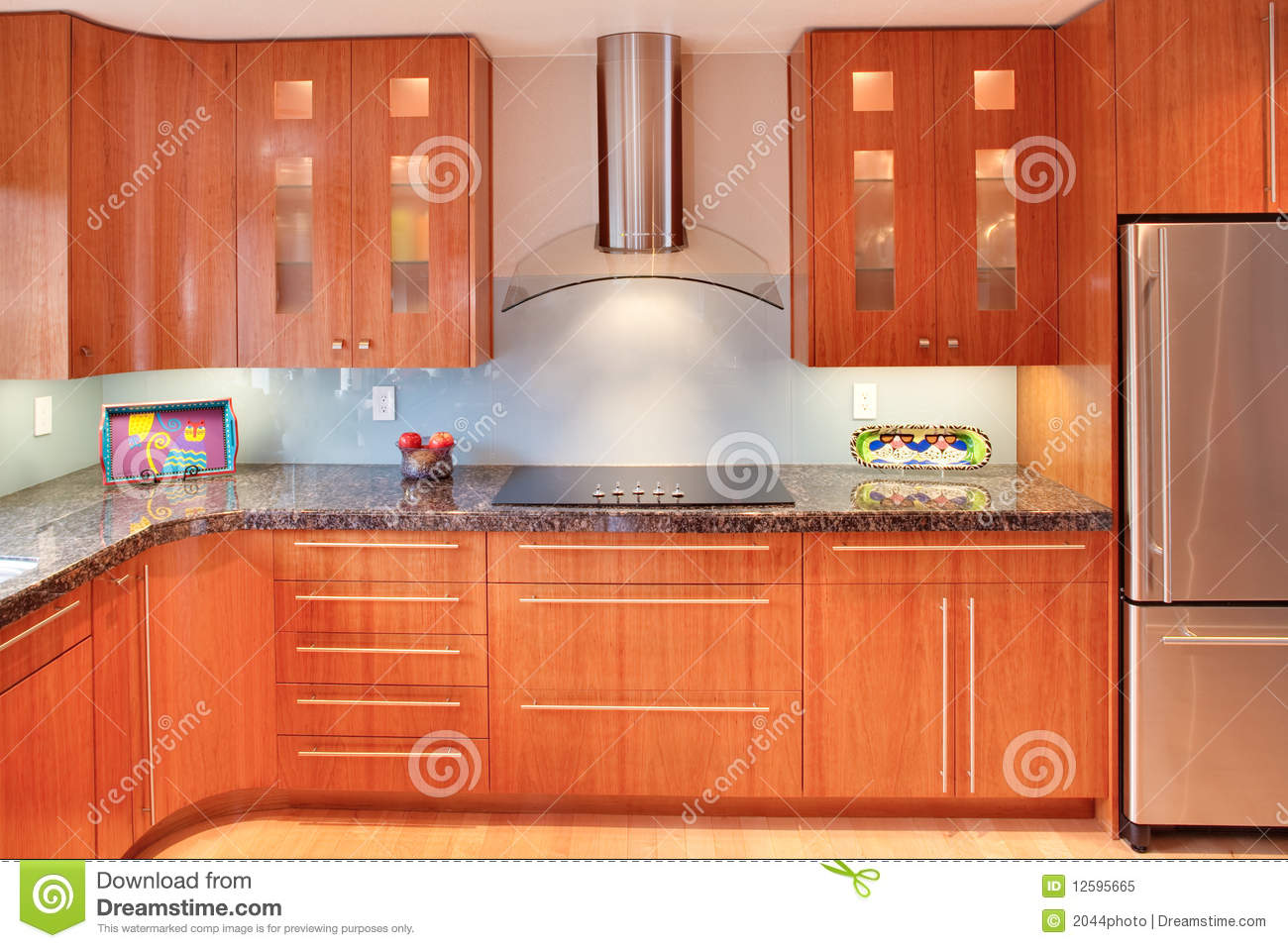 Super Modern Kitchen Super Modern Residential Kitchen Stock Image Image 12595665