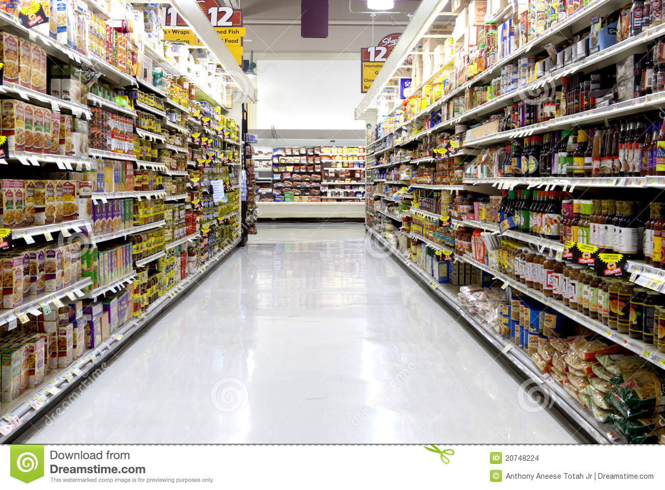 Store Banne Définition Supermarket Editorial Stock Image Image 20748224