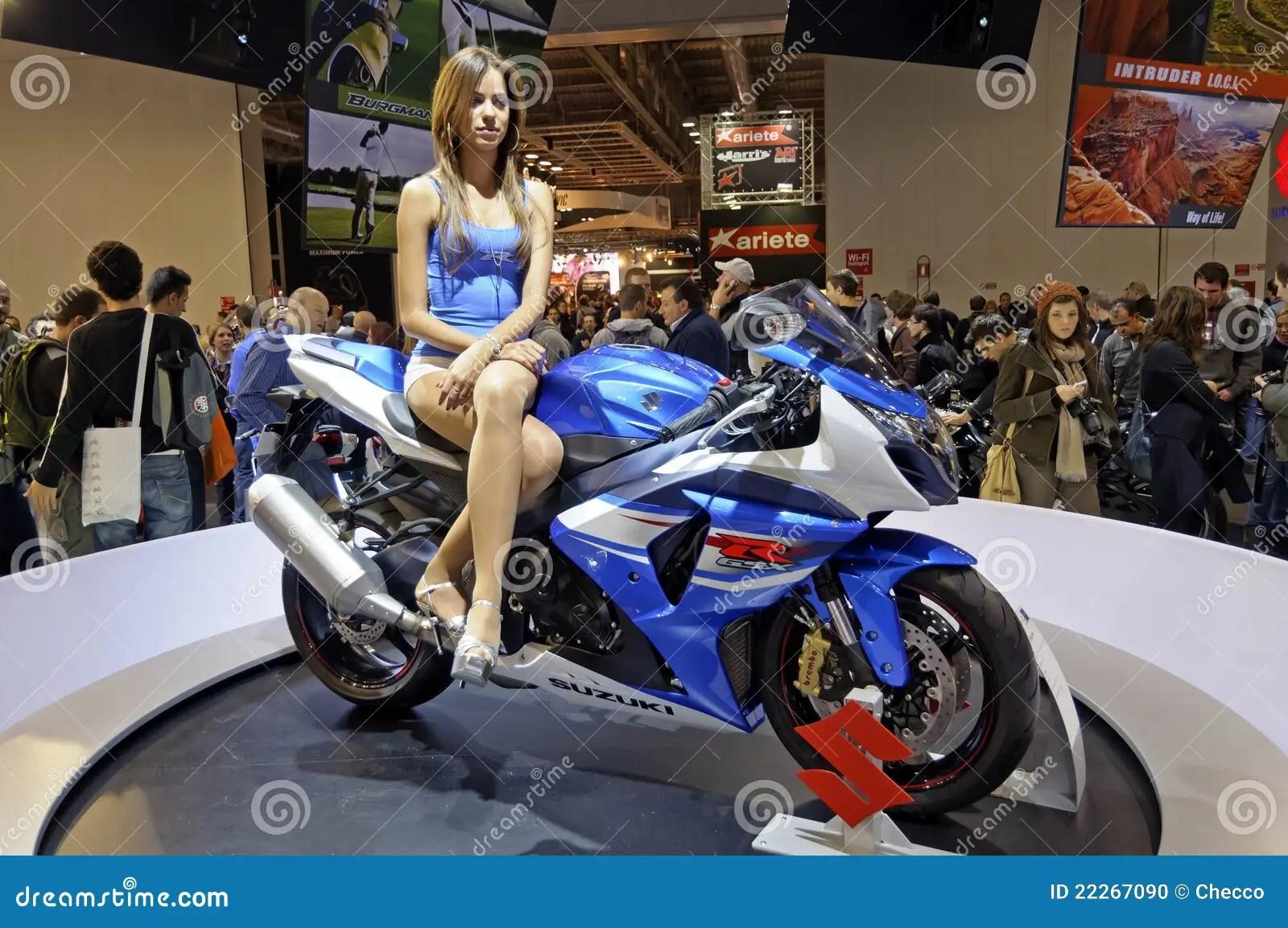 Max Power Cars Wallpaper Suzuki Gsx R 1000 In Eicma 2011 Editorial Image Image
