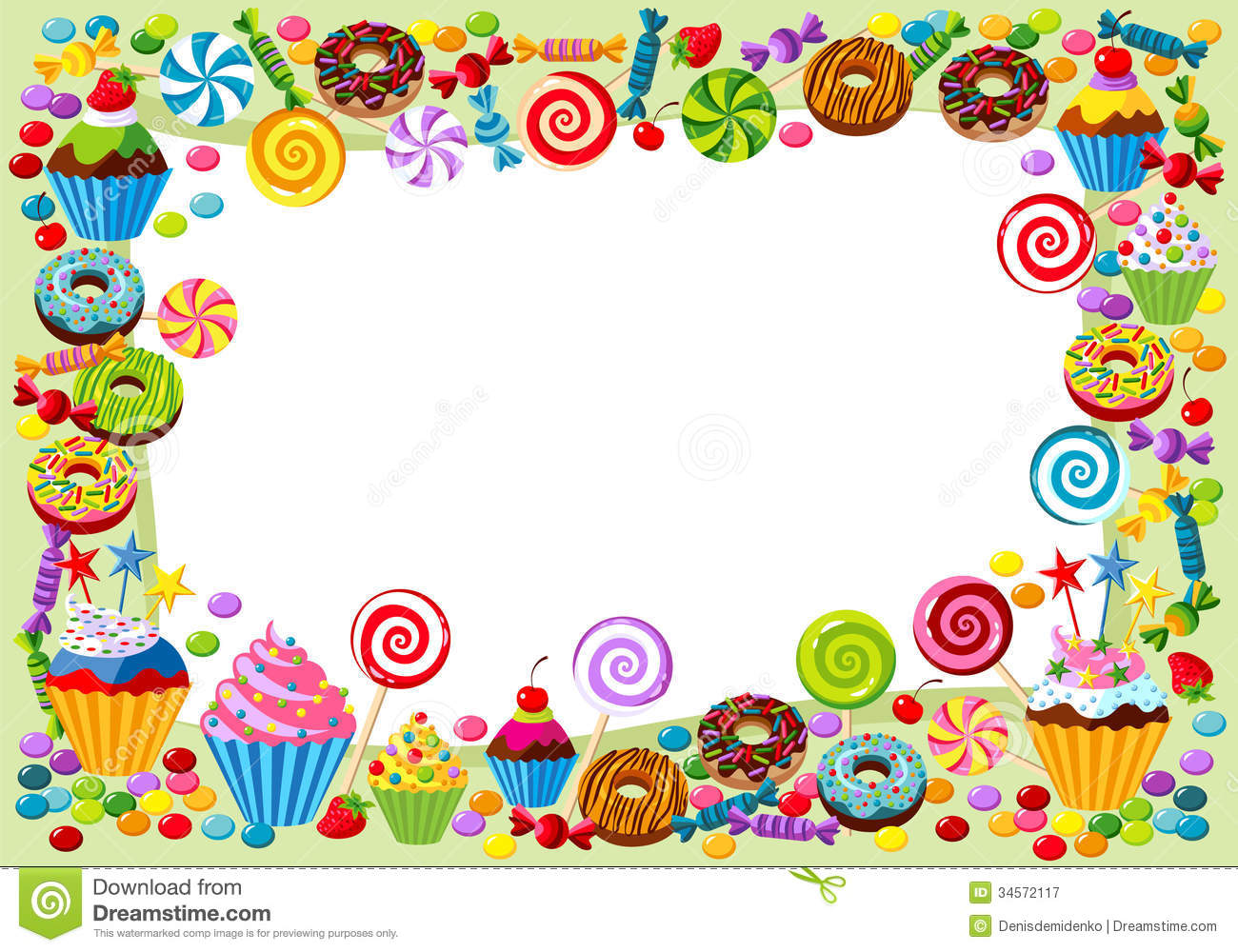 Cute Shopkins Wallpaper Hd Sweet Background Sweetest Day Stock Vector