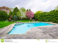 Swimming Pool In Backyard Stock Photos - Image: 36169793